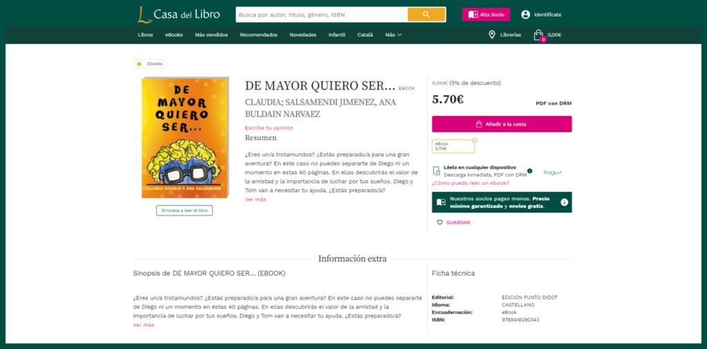 Imagen del libro a la venta en casadellibro.com
